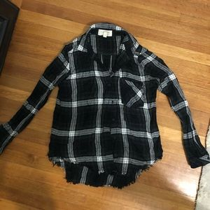 Cloth and Stone Plaid Shirt XS